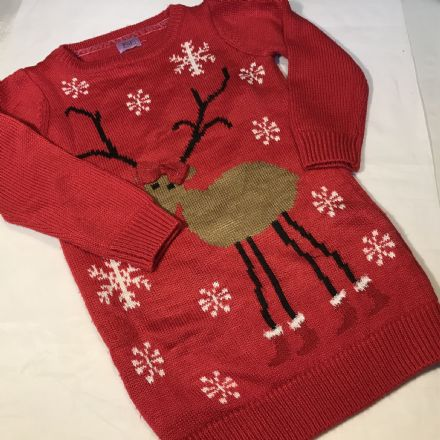 Christmas  Jumper Dress 2-3 Years